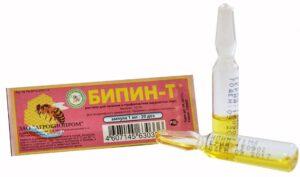 Бипин в ампулах от варроатоза