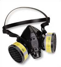 респиратор для защиты органов дыхания.